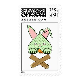 Mint Chocolate Chip Hopdrop Crossticks Postage Stamp