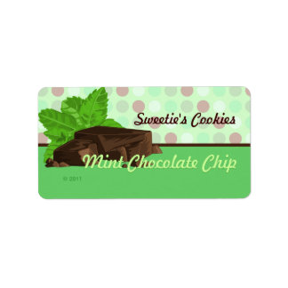 Mint Chocolate Chip Labels