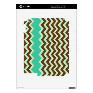 Mint Chocolate Chip Zigzags Decal For The iPad 2