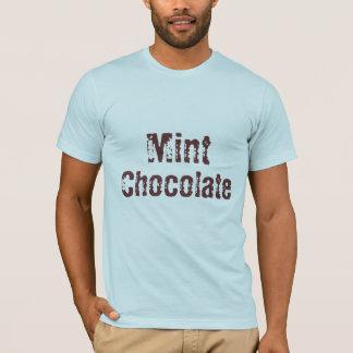 Mint, Chocolate - Designer T-Shirt