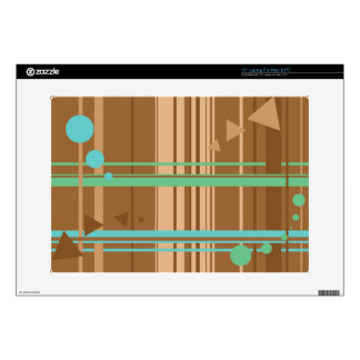 Mint Chocolate Geometry Skin For Laptop