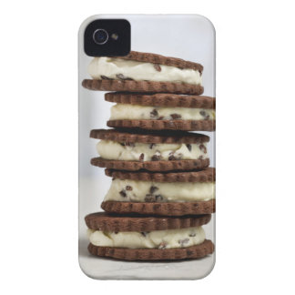 mint cocoa nib ice cream with chocolate cookies iPhone 4 Case-Mate case