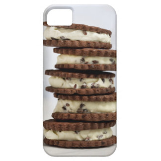 mint cocoa nib ice cream with chocolate cookies iPhone SE/5/5s case