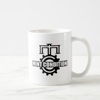 Mint Condition Cog Logo Mug