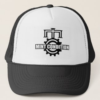 07de8ba4511 Mint Condition Cog Logo Trucker Hat