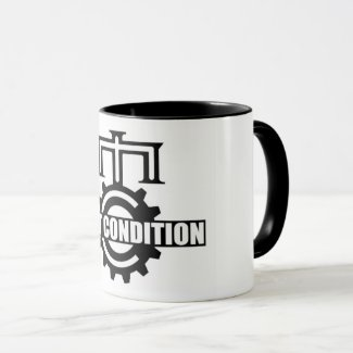 Mint Condition Cog Logo Two-Tone Mug