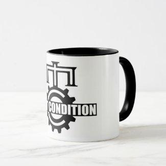 Mint Condition Cog Logo Two-Tone Mug