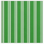 [ Thumbnail: Mint Cream and Green Striped/Lined Pattern Fabric ]