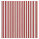 [ Thumbnail: Mint Cream & Dark Red Colored Stripes Fabric ]