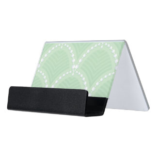 Art deco business card holders cases zazzle for Cute business card holders for desk