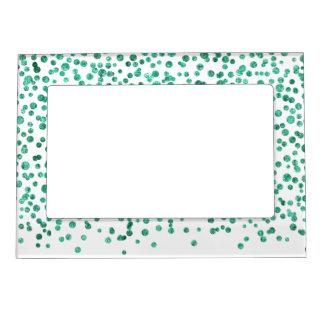 Mint Dazzle Confetti Magnetic Frame