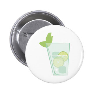Mint Drink Pinback Button
