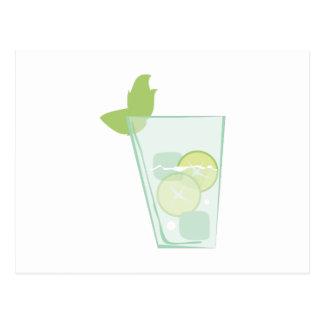Mint Drink Postcard