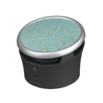 mint,gold,marbled,modern,trendy,chic,beautiful,ele bluetooth speaker