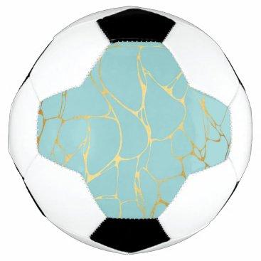 Wedding Themed mint,gold,marbled,modern,trendy,chic,beautiful,ele soccer ball