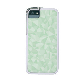 Mint Green Abstrac Mosaic Geometric Pattern iPhone 5 Covers