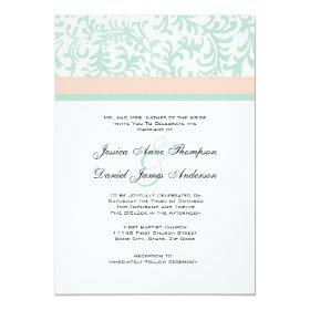 Mint Green Wedding Invitations Custom Wedding Invitations Online