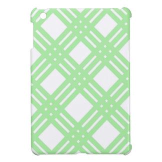 Mint Green and White Gingham iPad Mini Covers
