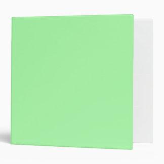 Mint Green 3 Ring Binder