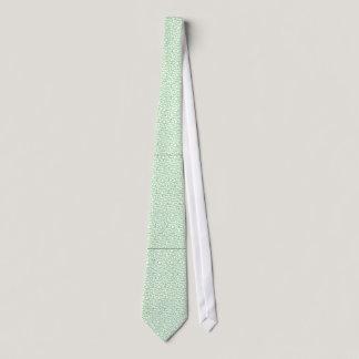 Mint Green Cancer Ribbon Tie