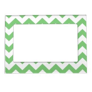 Mint Green Chevron magnetic frame