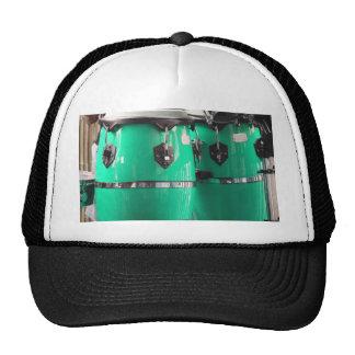 Mint green conga drums photo.jpg trucker hat