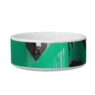Mint green conga drums photo.jpg pet food bowl