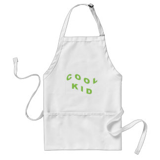 Mint Green Cool Kid Adult Apron
