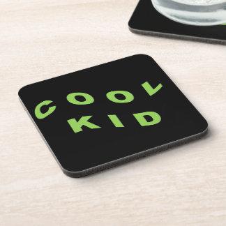 Mint Green Cool Kid Beverage Coaster