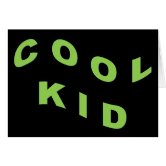 Mint Green Cool Kid Cards
