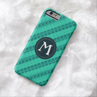 Mint Green Custom Monogram iPhone 6 Case