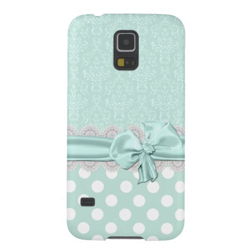 Mint Green Damask Samsung Galaxy S5 Phone Case Galaxy S5 Cover