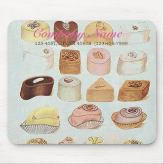 mint green dessert cookies candy chocolate mouse pad