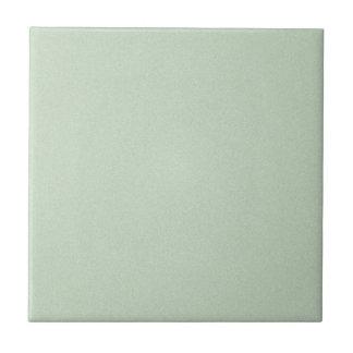 Mint Green Elegant Pattern. Fashion Color Trend Ceramic Tile