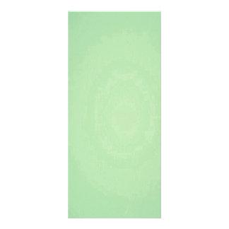 Mint Green Elegant Pattern. Fashion Color Trend Rack Card