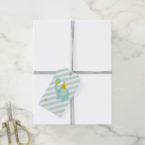 Mint Green Elephant Gift Tags