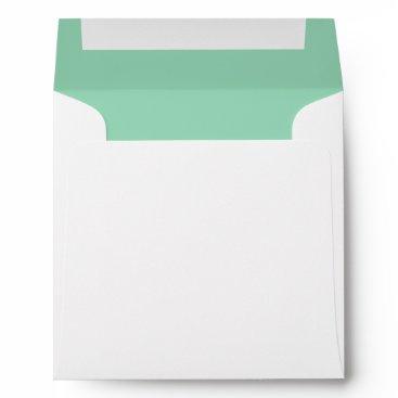 Professional Business Mint Green Envelope