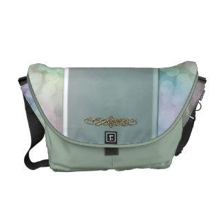 Mint Green Iced Sunshine Messenger Bag