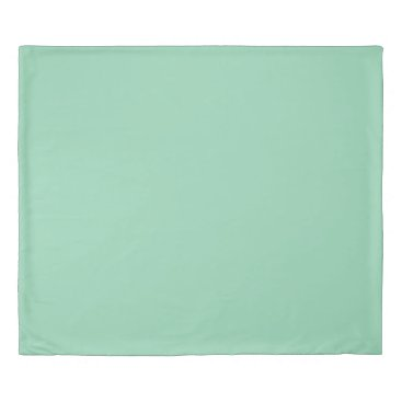 USA Themed Mint Green King Size Duvet Cover
