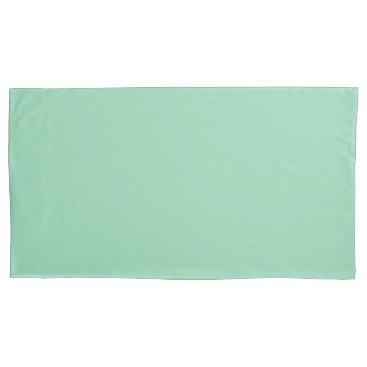 USA Themed Mint Green King Sized Single Pillowcase