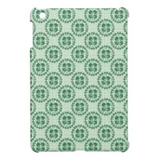 Mint Green Lucky Clover Pattern iPad Mini Covers
