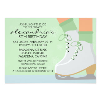 Mint Green Medium Skin Skate Laces Ice Skating Par Personalized Announcement