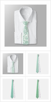 Mint-Green Neck Ties Collection