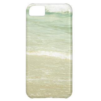 Mint Green Ocean Pastel Beach Photography Cover For iPhone 5C