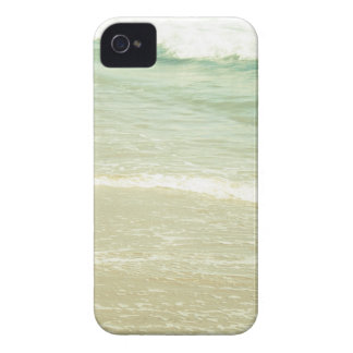 Mint Green Ocean Pastel Beach Photography iPhone 4 Case-Mate Case