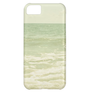 Mint Green Ocean Pastel Beach Photography Case For iPhone 5C