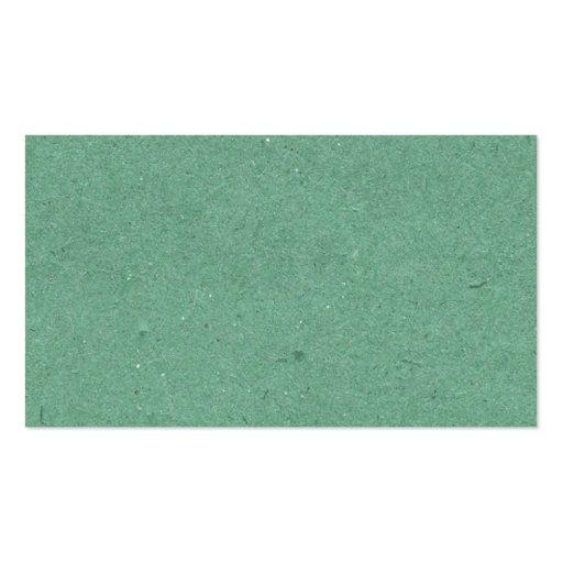 Mint Green Paper Texture Business Card Template