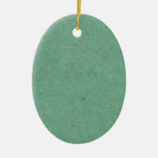 Mint Green Paper Texture Ceramic Ornament