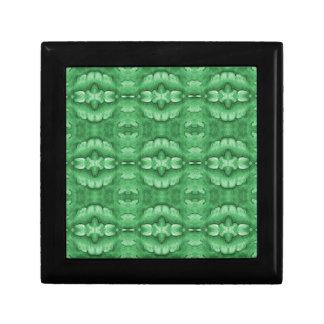 Mint Green Pattern Jewelry Box