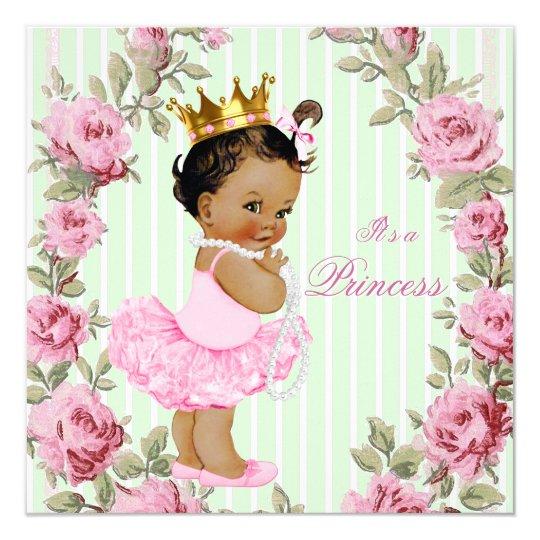 Ballerina Baby Shower Invitations